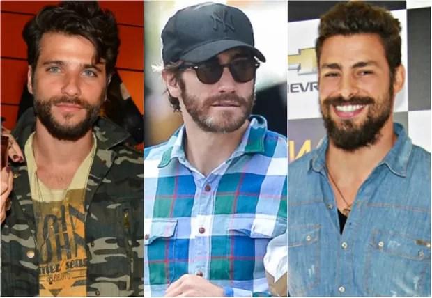 [BELEZA] - Bruno Gagliasso, Jake Gyllenhaal e Cauã Reymond (Foto: Caio Duran / PhotoRioNews | Grosby Group | Celso Tavares / EGO)