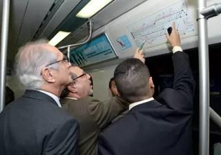 Fiscais do Procon-RJ fizeram vistoria em 24 estações (Foto: Divulgação / Procon)