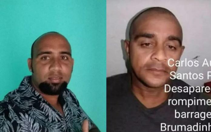 Pai e filho estão desaparecidos em tragédia de Brumadinho — Foto: Arquivo pessoal