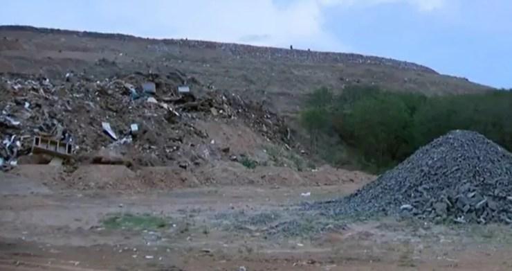 Homem morre no aterro sanitário de Presidente Prudente  — Foto: Reprodução/TV Fronteira
