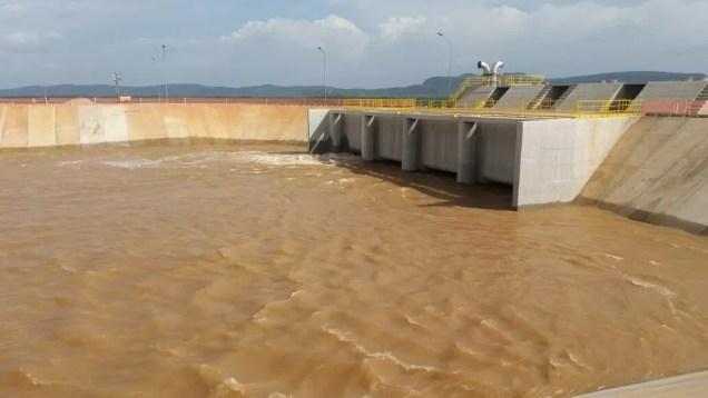 Transposição  do rio são  Francisco em Cabrobó (Foto: Cícero João dos Santos)