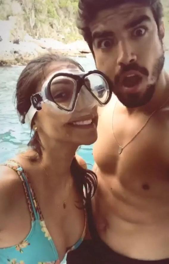 Mariana d'Ávila e Caio Castro (Foto: Reprodução Instagram)