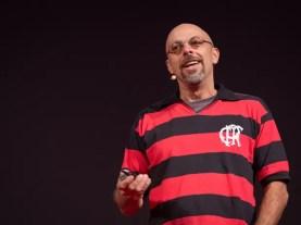 """07/10/2014 – O cineasta brasileiro José Padilha (""""Tropa de elite"""") fala nesta terça-feira no TED Global (Foto: James Duncan Davidson/TED/Divulgação)"""