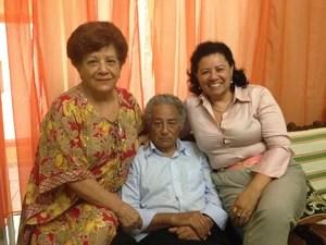 Sandra diz que sentirá mais falta da família (Foto: Ivanete Damasceno/G1)