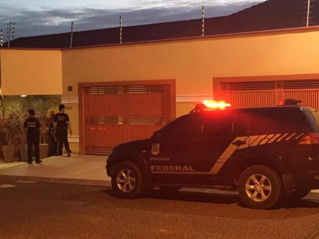 Operação Dracma, em Porto Velho — Foto: Carolina Brazil/Rede Amazônica