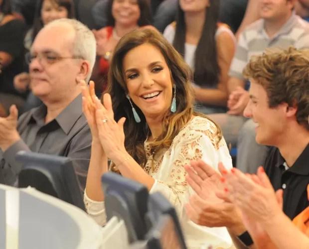 Ivete Sangalo (Foto: Domingão do Faustão / TV Globo)