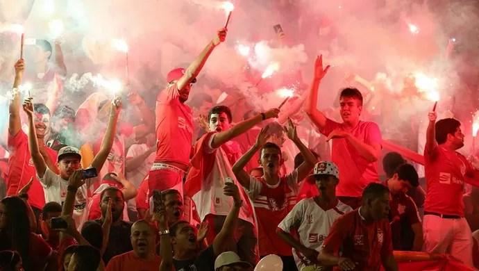Torcida do Sergipe, Arena Batistão (Foto: Jorge Henrique)