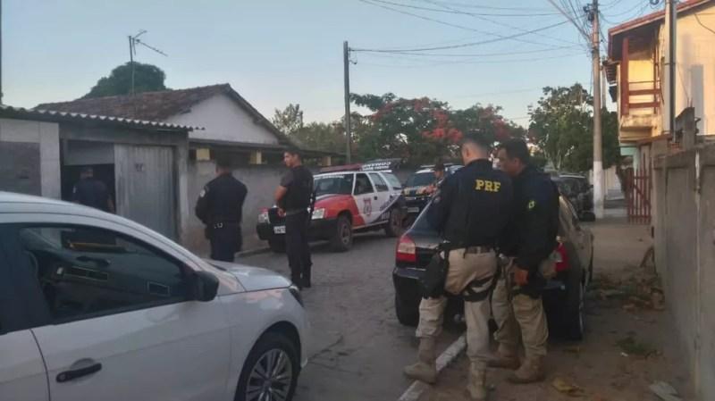 Operação Apneia prende acusados de tráfico de drogas em Quissamã — Foto: Divulgação/Polícia Civil