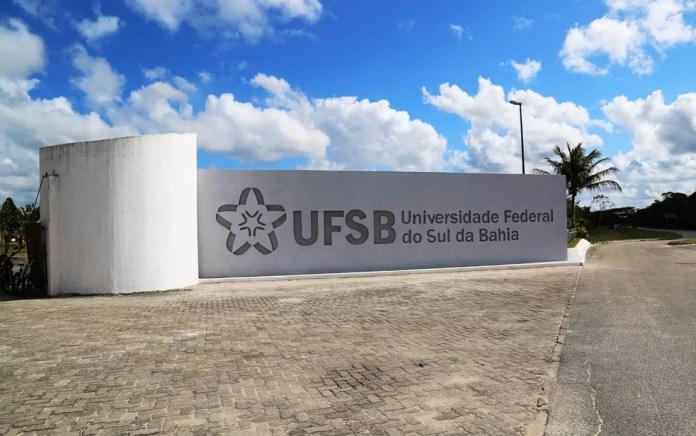 Campus de Porto Seguro da Universidade Federal do Sul da Bahia (UFSB). — Foto: Divulgação/ UFSB
