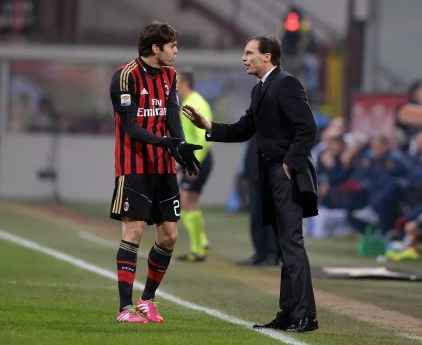 Kaká Allegri defendeu o Milan até 2014 (Foto: Getty Images)