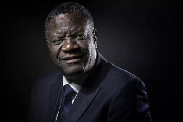 Ginecologista congolês Denis Mukwege, em imagem de arquivo de 24 de outubro de 2016 — Foto: Joel Saget / AFP