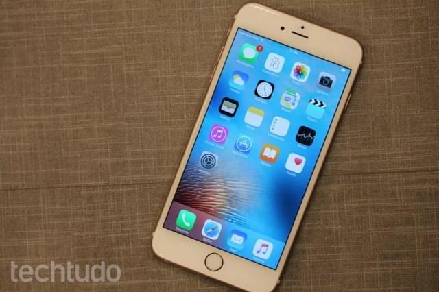 iPhone 6S Plus tem câmera de 12 megapixels — Foto: Lucas Mendes/TechTudo