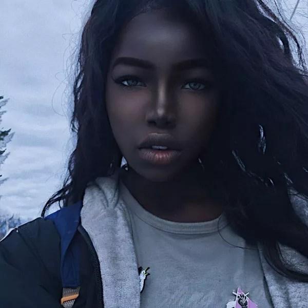 """Lola, a """"Barbie negra"""" (Foto: Reprodução Instagram)"""