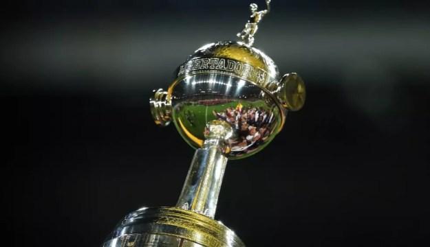 Libertadores troféu — Foto: Reprodução