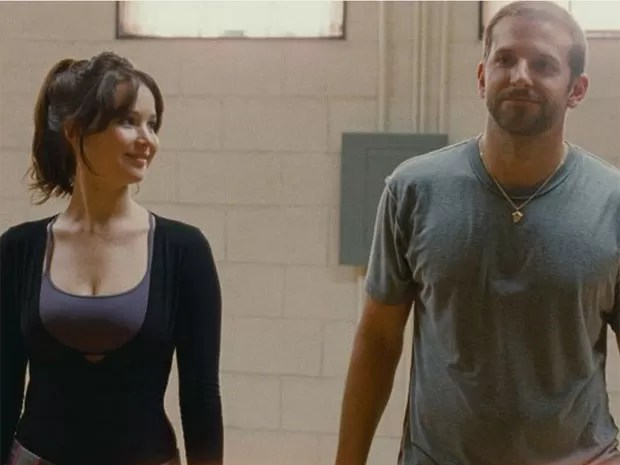 Jennifer Lawrence e Bradley Cooper em cena do longa 'Silver linings playbook', do diretor David O. Russell ('O vencedor') (Foto: Divulgação)