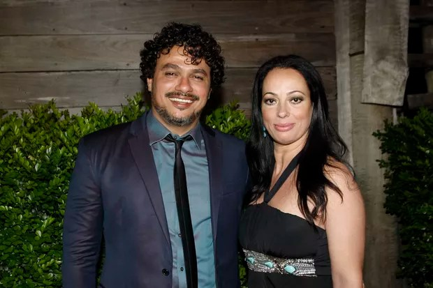 Leo Maia e Esposa Casamento Fabio Jr (Foto: Rafael Cusato/EGO)