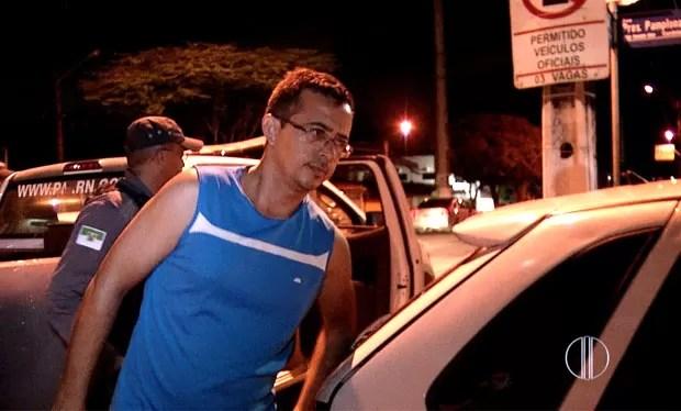 Rondinelli Vítor dos Santos, diretor do complexo penal Doutor João Chaves (Foto: Reprodução/Inter TV Cabugi)