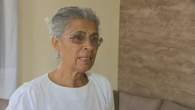 Ana Vindoura Dias Luz é líder espiritual na Igreja Adventista Remanescentes de Laodiceia — Foto: TV Globo/Reprodução