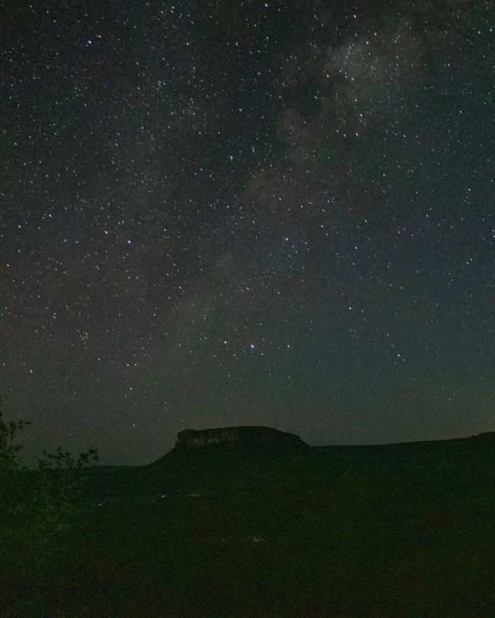 Fotógrafo faz registros de céu estrelado — Foto: Silas Ismael/Foto