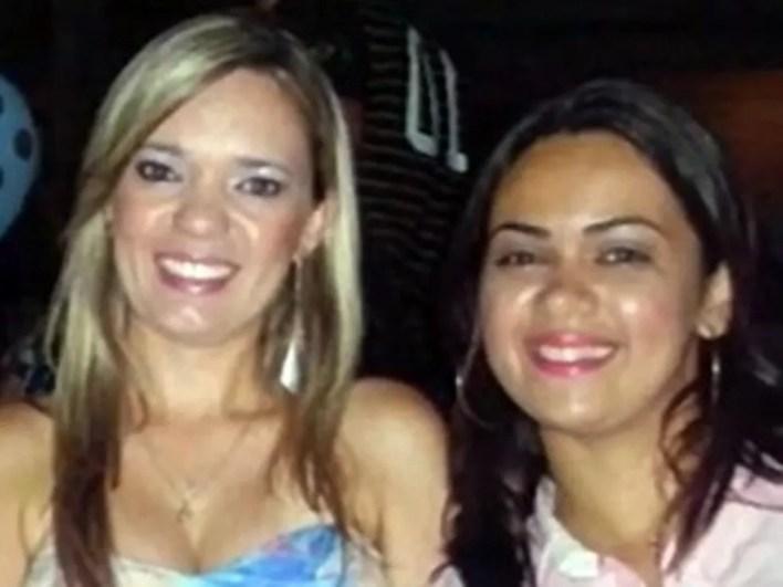 Izabella Monteiro e Michelle Domingues morreram após estupro coletivo em Queimadas — Foto: Arquivo Pessoal
