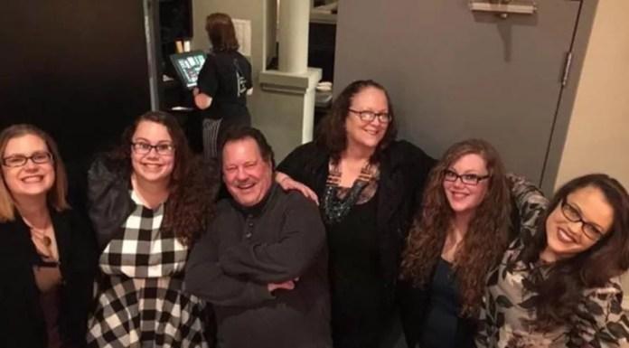 Morto por covid-19, Landon deixou esposa, quatro filhas e um filho — Foto: Arquivo pessoal