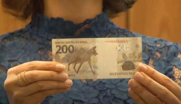 Cédula de R$ 200