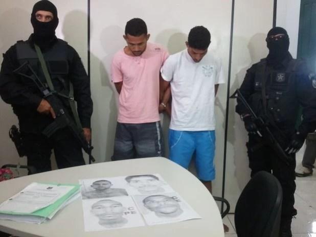 Imãos integram grupo responsável por mais de vinte mortes em Sergipe (Foto: Marina Fontenele/G1)