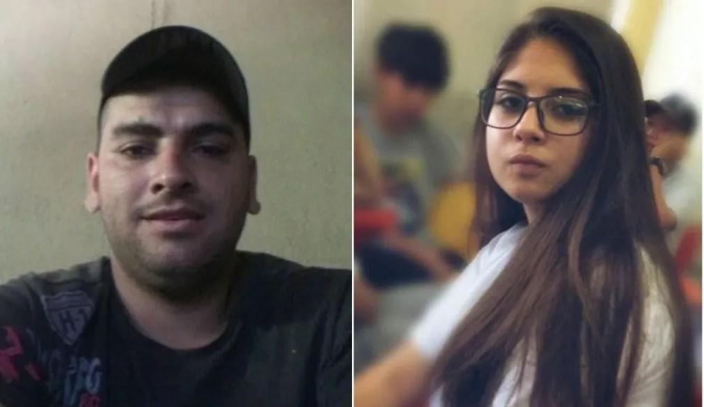 Horázio Lazareno Lucas e Letícia Tanzi — Foto: Reprodução/Facebook