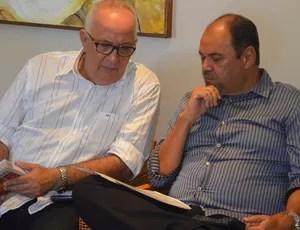breno morais, guilherme novinho, campeonato paraibano (Foto: Edgley Lemos / GloboEsporte.com/pb)