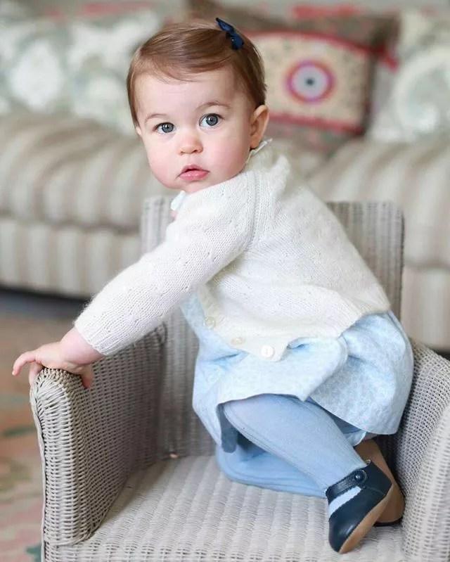 Princesa Charlotte (Foto: Reprodução / Instagram)