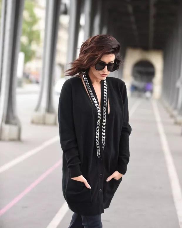 Fernanda Paes Leme em Paris (Foto: @fotografobrasileiroemparis para L'Oréal Paris)