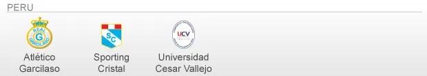 info Classificados e Vagas Libertadores 2013 - peru (Foto: arte esporte)