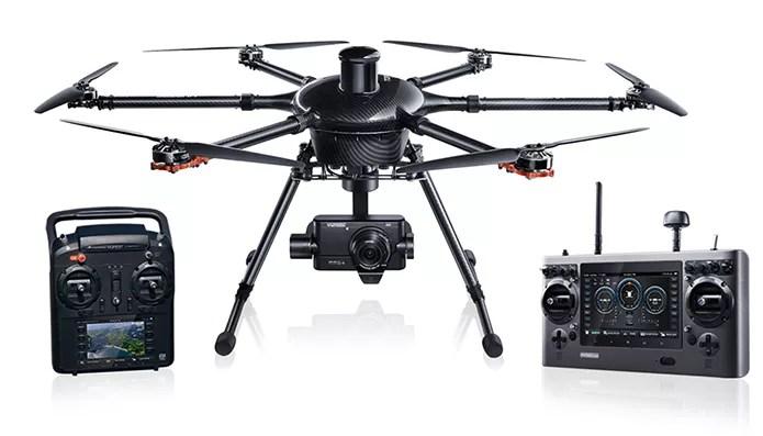 Drone da Yuneec vem com câmera de apenas 2 MP (Foto: Divulgação/Yuneec)