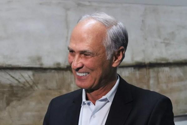 Vice-governador de Minas Gerais, Antônio Andrade — Foto: Caroline Aleixo/G1