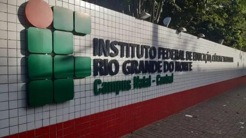 IFRN - Instituto Federal do Rio Grande do Norte  — Foto: Sérgio Henrique Santos/Inter TV Cabugi
