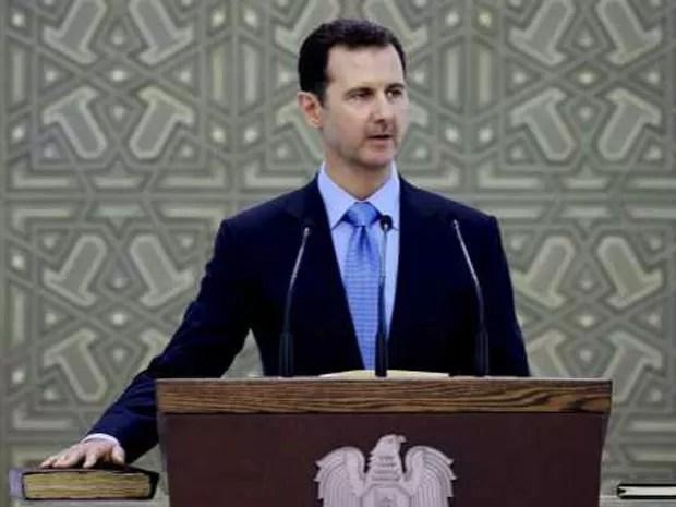 Presidente sírio também é inimigo do Estado Islâmico  (Foto: AP)