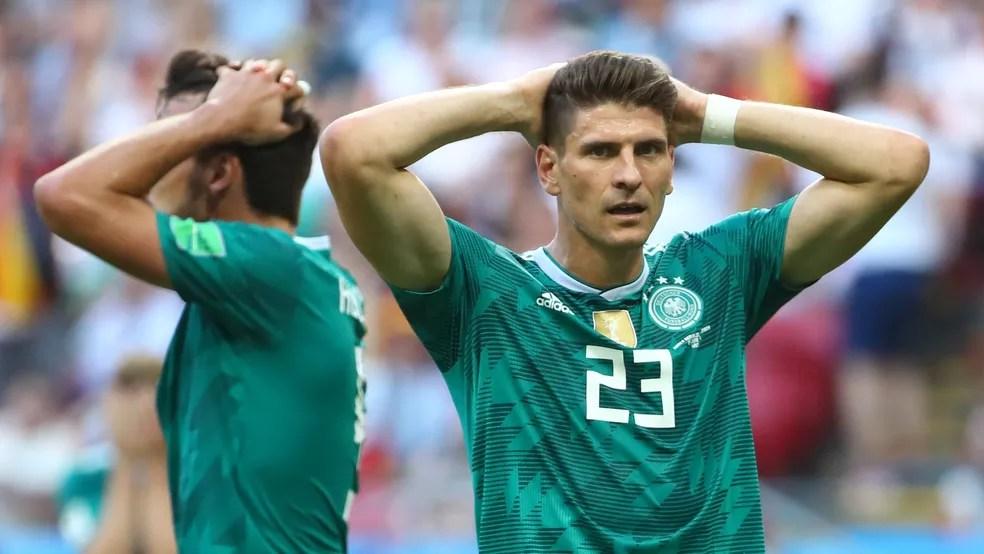 Alemanha perde para Coreia do Sul e está fora da Copa do Mundo 2018 (Foto: Michael Dalder/Reuters)