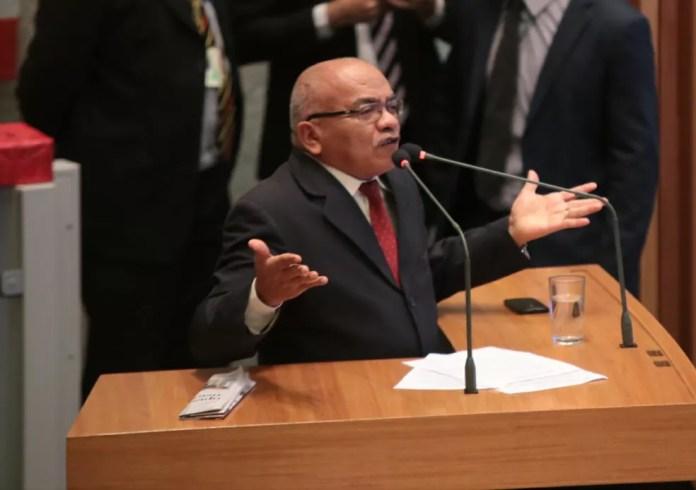 Deputado distrital Chico Vigilante na Câmara Legislativa  — Foto: Rogaciano José/Divulgação
