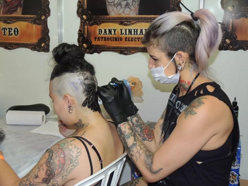Expo Tatto Limeira tem concurso para Miss Tatto (Foto: Dínamus Assessoria)