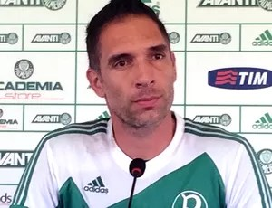 Coletiva Palmeiras - Fernando Prass (Foto: Marcelo Hazan)