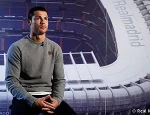 cristiano ronaldo real madrid entrevista bola final da copa do rei (Foto: Angel Martinez / Real Madrid)
