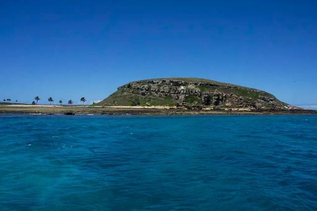 Ilha Redonda em Abrolhos, na Bahia (Foto: Munique Bassoli/Wikimedia Commons)