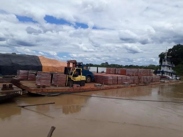 Navegação pode ficar cada vez mais difícil entre cidades no interior do Acre  — Foto: Catejane Santos/Arquivo pessoal