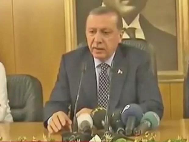 erdogan volta (Foto: Reprodução)