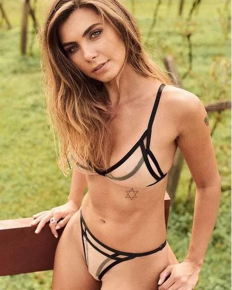 Letícia Datena é a capa da Playboy de abril (Foto: Playboy/Divulgação)