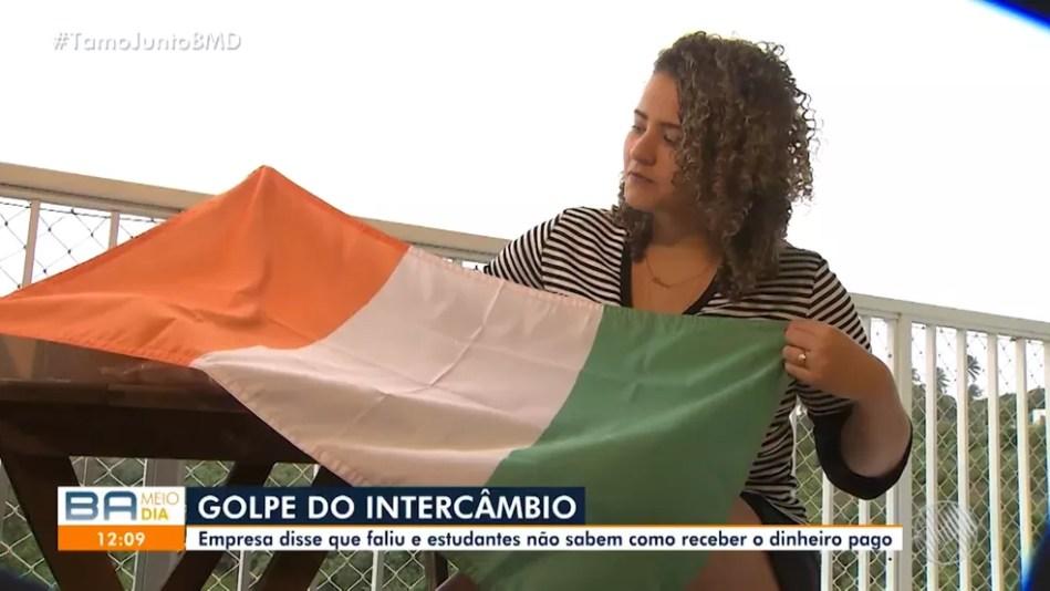 Empresa mandou bandeira da Irlanda e outras lembranças antes de anunciar fechamento  — Foto: Reprodução/Redes Sociais