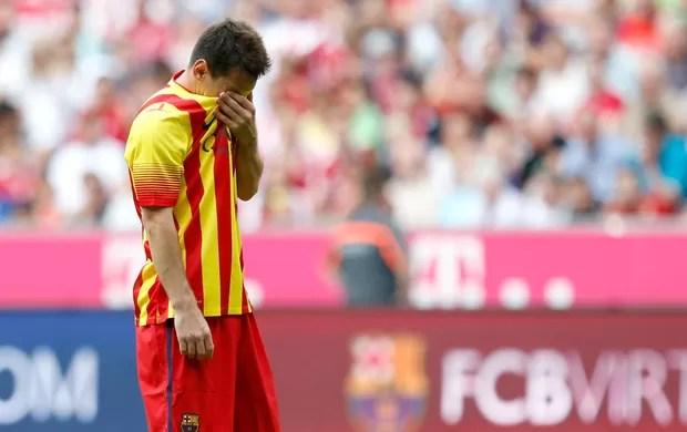 Lionel Messi Barcelona Bayern (Foto: AP)