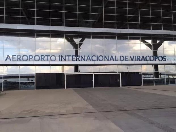 Novo terminal 1 do Aeroporto de Viracopos em Campinas (SP) (Foto: Roberta Steganha/G1)
