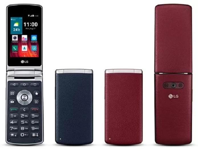 Lg Wine Smart, novo celular flip da sul-coreana (Foto: Divulgação/LG)