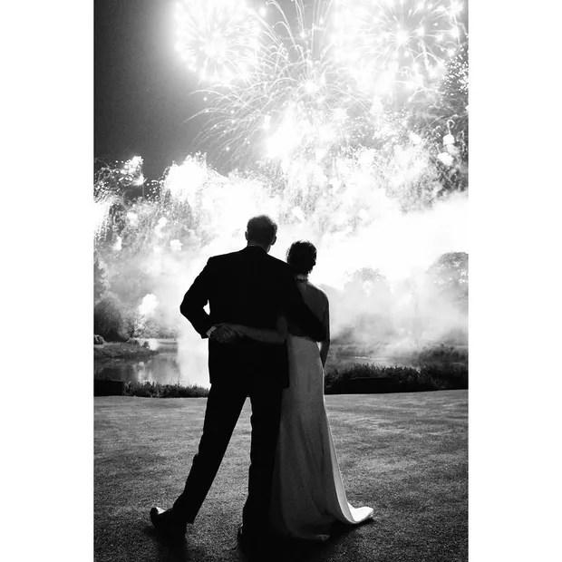 Harry e Meghan Markle (Foto: Instagram/Reprodução)